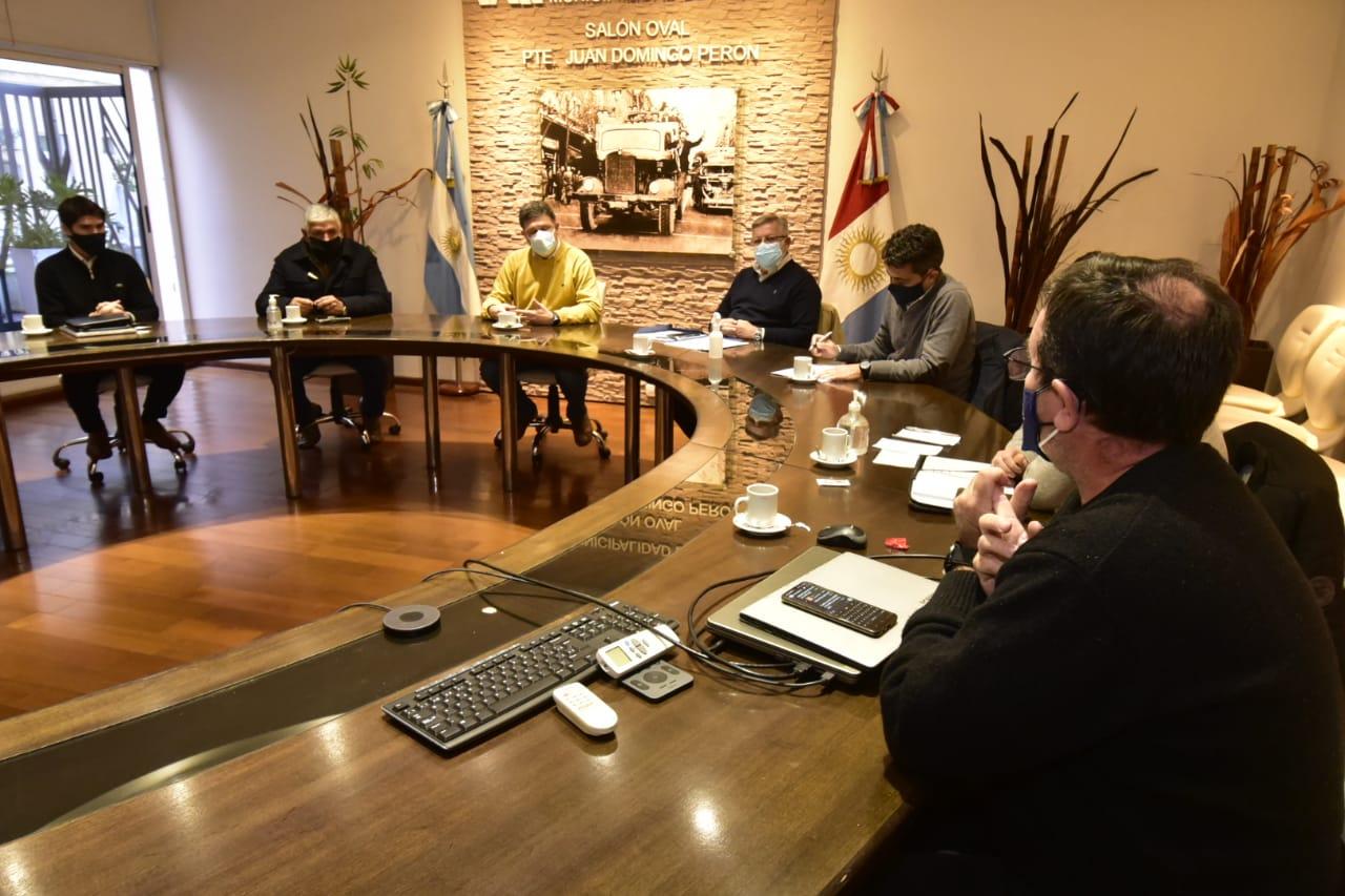 Rosso se reunió con representantes de AERCA y ACOVIM  para analizar la situación económica frente a las restricciones vigentes