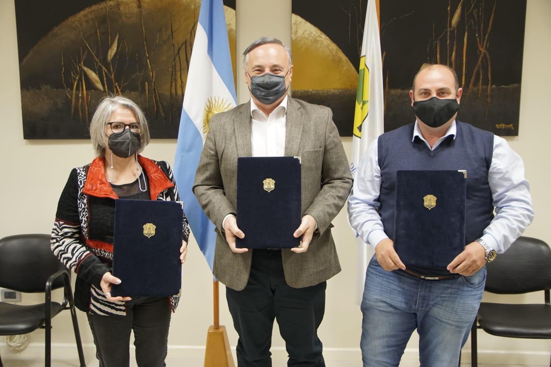 Se anunció la creación del Parque Industrial Ticino-La Palestina
