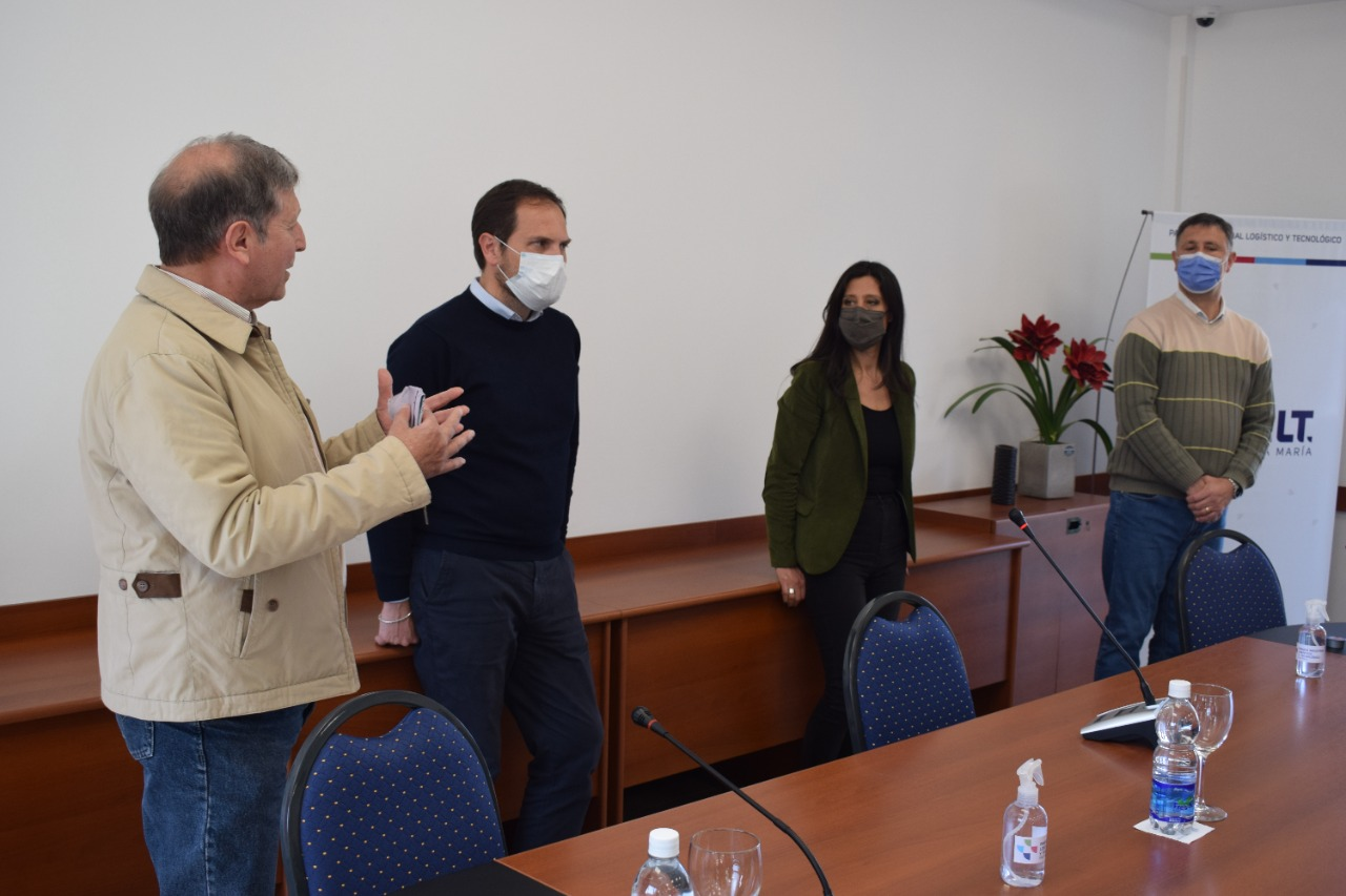 La secretaria de comercio interior de la nación visitó el Parque Industrial