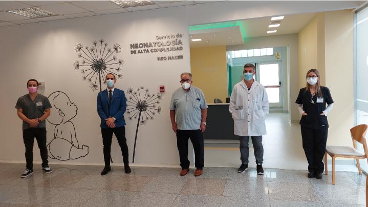 El Sanatorio de la Cañada presentó Neo Nacer, una fuerte inversión tecnológica para la salud