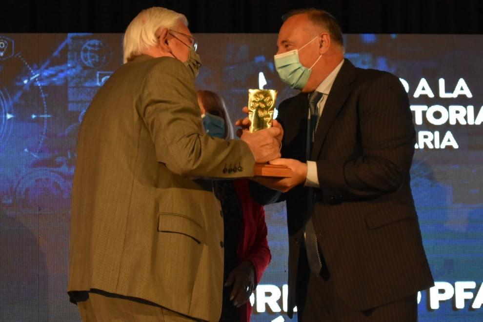 Villamarienses distinguidos en los  Premios a la Industria