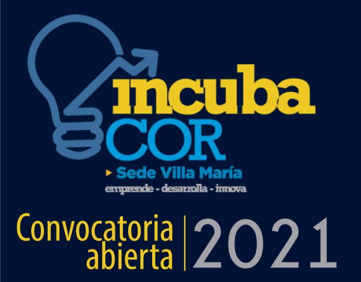 Incubacor: está abierta la convocatoria para proyectos